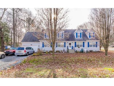 Sussex County Single Family Home For Sale: 31494 Hazzard Drive