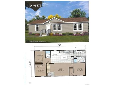 Milton Single Family Home For Sale: Lot 6 Boaters Place
