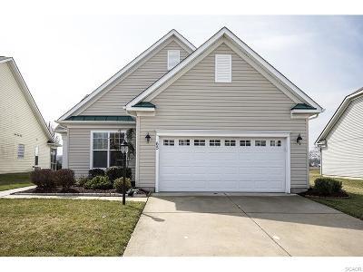 Bridgeville Single Family Home For Sale: 65 Emilys Pintail Dr