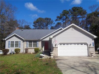 Seaford Single Family Home For Sale: 25363 Mallard Dr