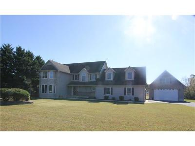 Bridgeville Single Family Home For Sale: 6486 Ray Rd.