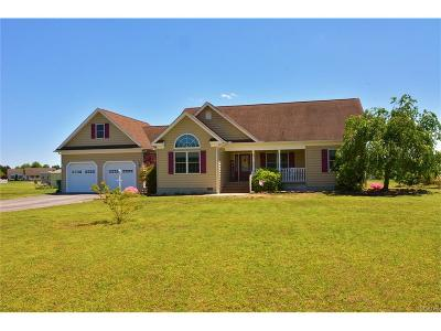 Bridgeville Single Family Home For Sale: 21951 Palomino Way