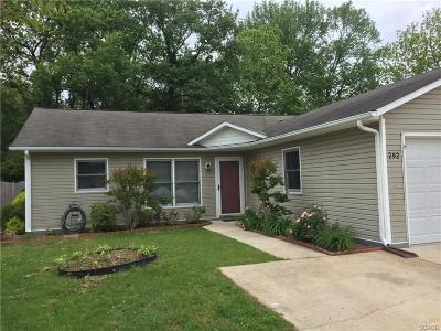 Single Family Home For Sale: 292 Meadows Court