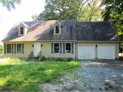 Sussex County Single Family Home For Sale: 14056 Staytonville Rd