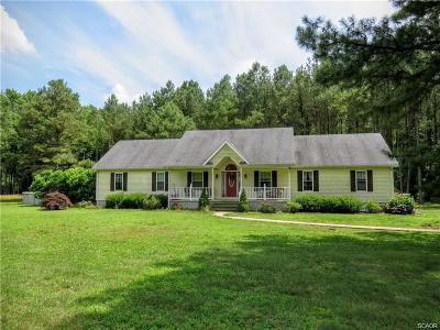 Seaford Single Family Home For Sale: 3751 Clagg Road