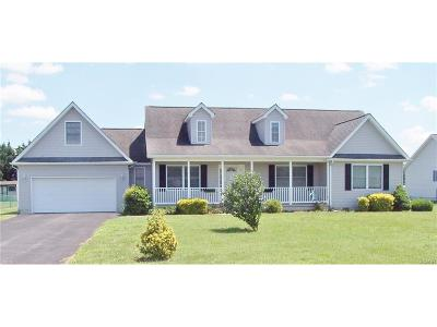 Seaford Single Family Home For Sale: 201 Valley Run Drive