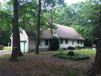 Harrington Single Family Home For Sale: 10832 Memory Road