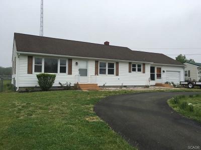 Harrington Single Family Home For Sale: 6222 Milford Harrington