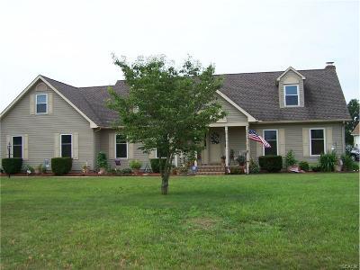 Harrington Single Family Home For Sale: 110 E Lucky Estates
