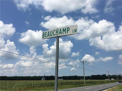 Harbeson Residential Lots & Land For Sale: 21650 Beauchamp