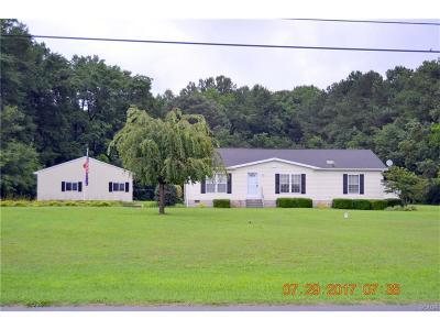 Bridgeville Single Family Home For Sale: 8278 Gumball Lane