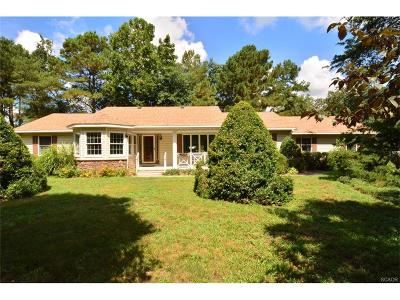 Seaford Single Family Home For Sale: 7409 Rivershore Drive