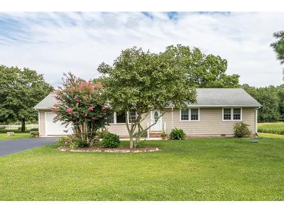 Harbeson Single Family Home For Sale: 20497 Beaver Dam