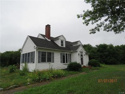 Single Family Home For Sale: 12574 Coastal Highway