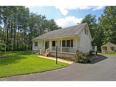 Laurel Single Family Home For Sale: 30820 River Rd
