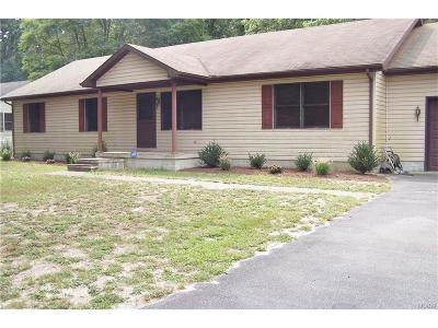 Seaford Single Family Home For Sale: 10930 Pit Rd.