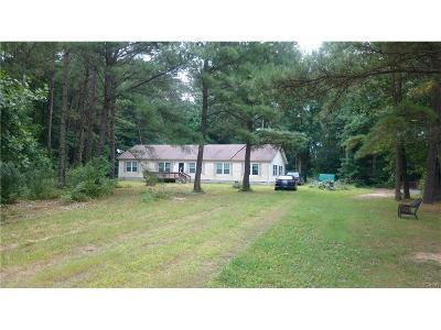 Bridgeville Single Family Home For Sale: 19331 Handy Road