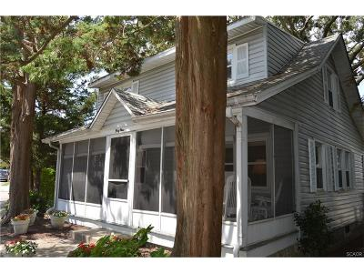 SOUTH REHOBOTH Single Family Home For Sale: 49 Brooklyn Avenue