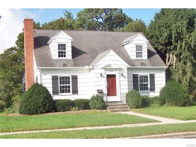 Seaford Single Family Home For Sale: 606 Phillips St.