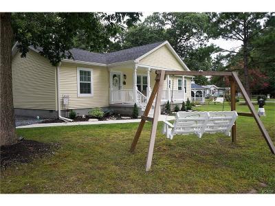 Ocean View Single Family Home For Sale: 37559 Oak Street
