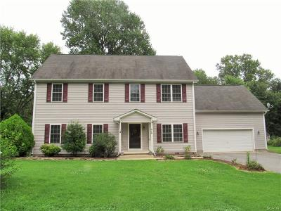 Milford Single Family Home For Sale: 410 Wisseman