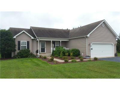 Harrington Single Family Home For Sale: 318 Jefferson Woods Drive