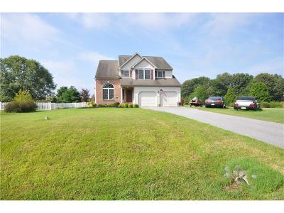 Kent, New Castle, Sussex, KENT (DE) COUNTY Single Family Home For Sale: 1 Swamppink Drive