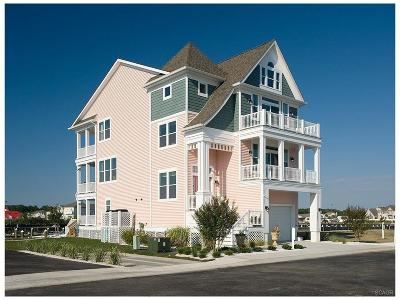 Ocean View Single Family Home For Sale: 38309 Canal St #Lot 84