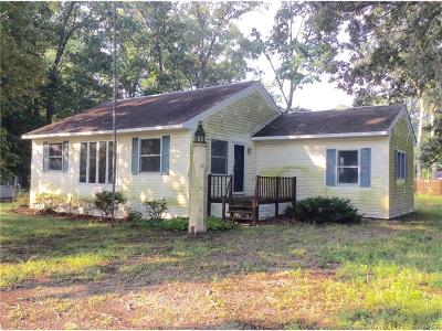 Single Family Home For Sale: 22854 Pine Road