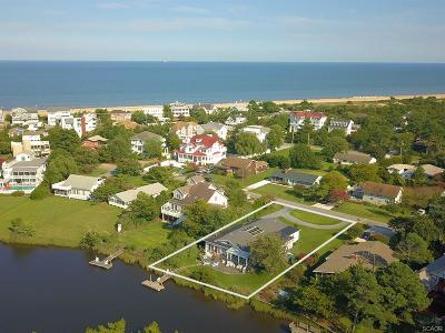 Henlopen Acres, North Shores Single Family Home For Sale: 23 Harbor Road