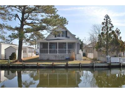 Selbyville Single Family Home For Sale: 37041 Blue Teal Rd