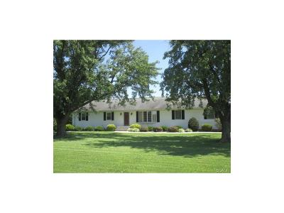 Seaford Single Family Home For Sale: 26459 Line Road