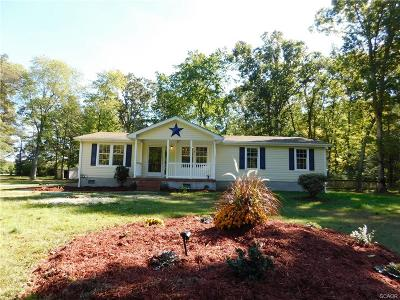 Harbeson Single Family Home For Sale: 26100 Memory Lane