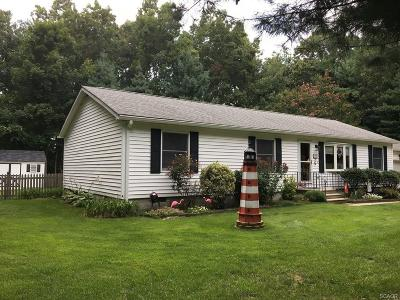 Single Family Home For Sale: 109 Pine Dr