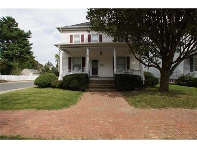 Kent, New Castle, Sussex, KENT (DE) COUNTY Single Family Home For Sale: 307 N State Street