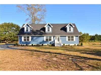 Kent, New Castle, Sussex, KENT (DE) COUNTY Single Family Home For Sale: 23367 S Dupont Highway