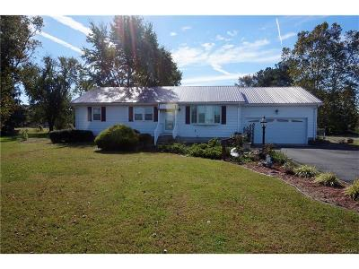 Laurel Single Family Home For Sale: 11192 Chipmans Pond Road SE