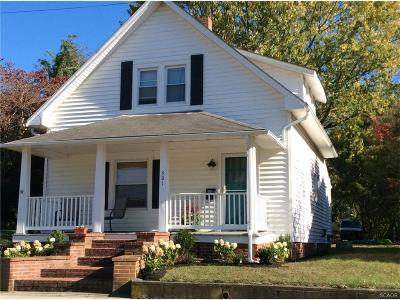 Milton Single Family Home For Sale: 501 Federal