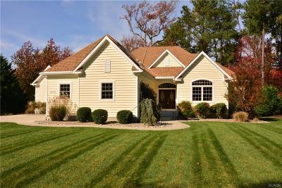 Rehoboth Beach Single Family Home For Sale: 37774 Bay Harbor Circle