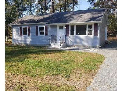 Seaford Single Family Home For Sale: 13021 Fleetwood Pond