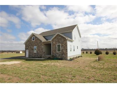 Bridgeville Single Family Home For Sale: 16873 Oak Rd.