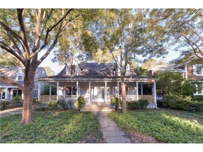 Single Family Home For Sale: 103 Henlopen Avenue