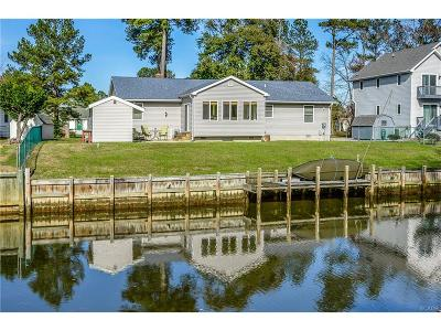 Selbyville Single Family Home For Sale: 35689 Water Gate Circle