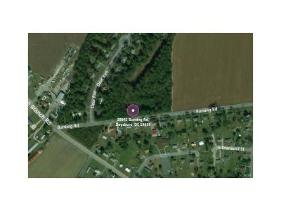 Dagsboro Residential Lots & Land For Sale: 28643 Bunting Rd