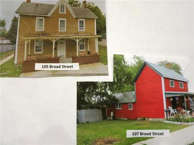 Milton Single Family Home For Sale: 105 Broad