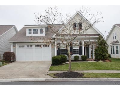 Bridgeville Single Family Home For Sale: 107 Emilys Pintail Drive