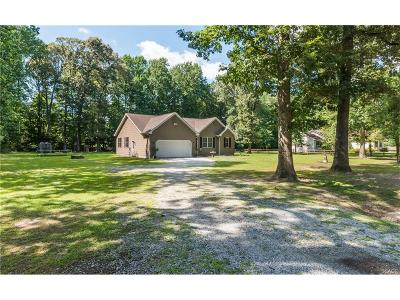 Sussex County Single Family Home For Sale: 9320 Benson Rd