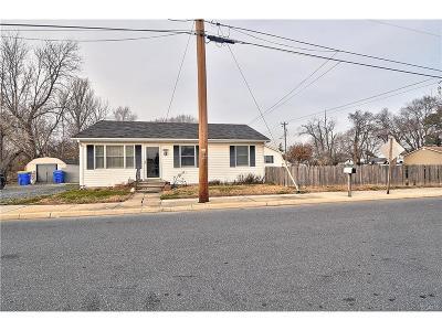 Kent, New Castle, Sussex, KENT (DE) COUNTY Single Family Home For Sale: 102 W Milby Street