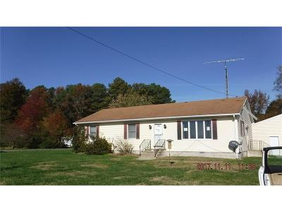 Kent, New Castle, Sussex, KENT (DE) COUNTY Single Family Home For Sale: 487 Pickering Beach