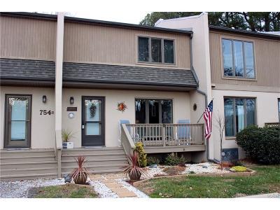 Bethany Beach Condo/Townhouse For Sale: 754c Salt Pond Rd